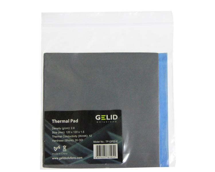 GELID 120x120x0.5mm硅胶垫