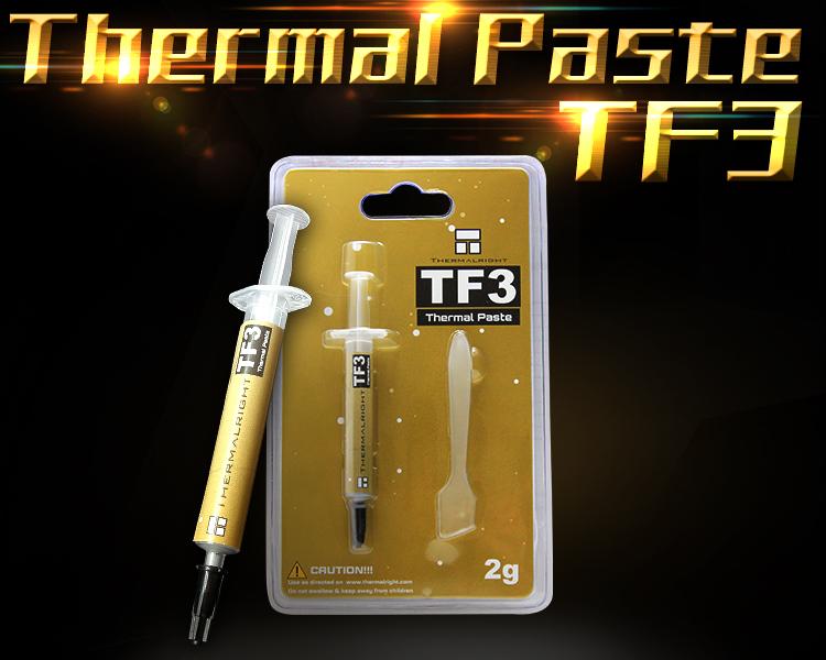 Thermalright TF3(2g) 导热硅脂 导热系数6w