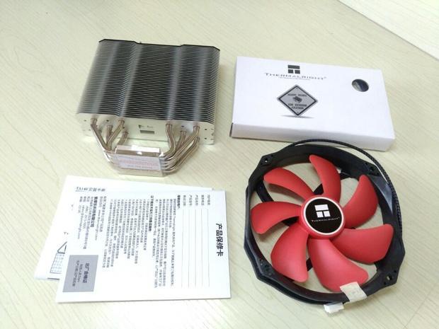 利民TA140风影 散热器开箱:不干涉内存、5热管单塔战双塔?